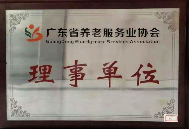 广东省养老服务业协会理事单位