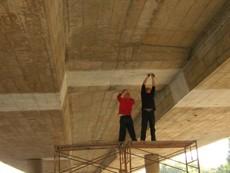 广州番禺鱼窝头跨线桥伸缩缝更换维修加固工程