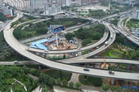 深圳地铁5号线创业立交桥桩基托换工程