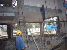 东莞某IDC机房基础及承重梁加固工程