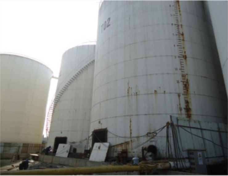 [基础加固]钦州大洋粮油油罐基础加固与罐体纠偏工程实例