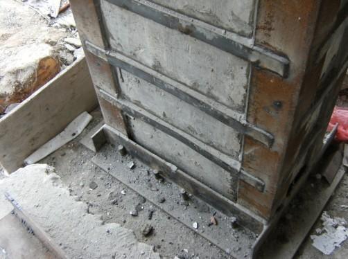 动漫总部广场地下室柱基础加固工程
