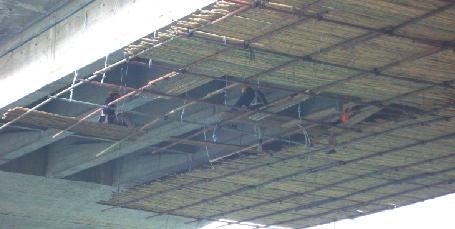 预埋式肋板结构桥台